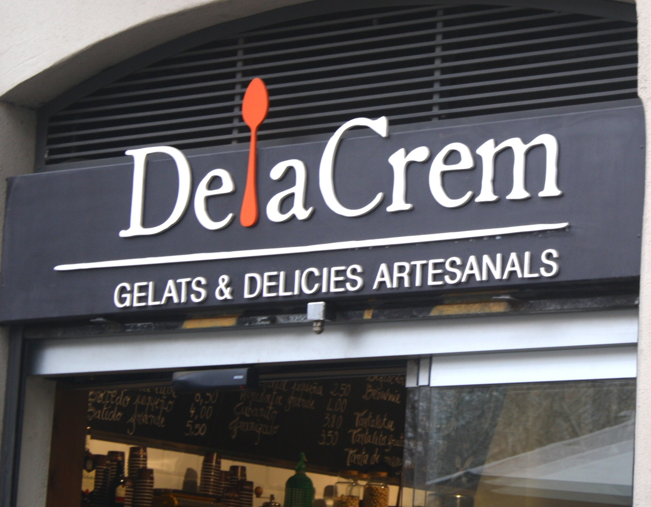 Delacrem: the crème de la crème of ice cream in Barcelona