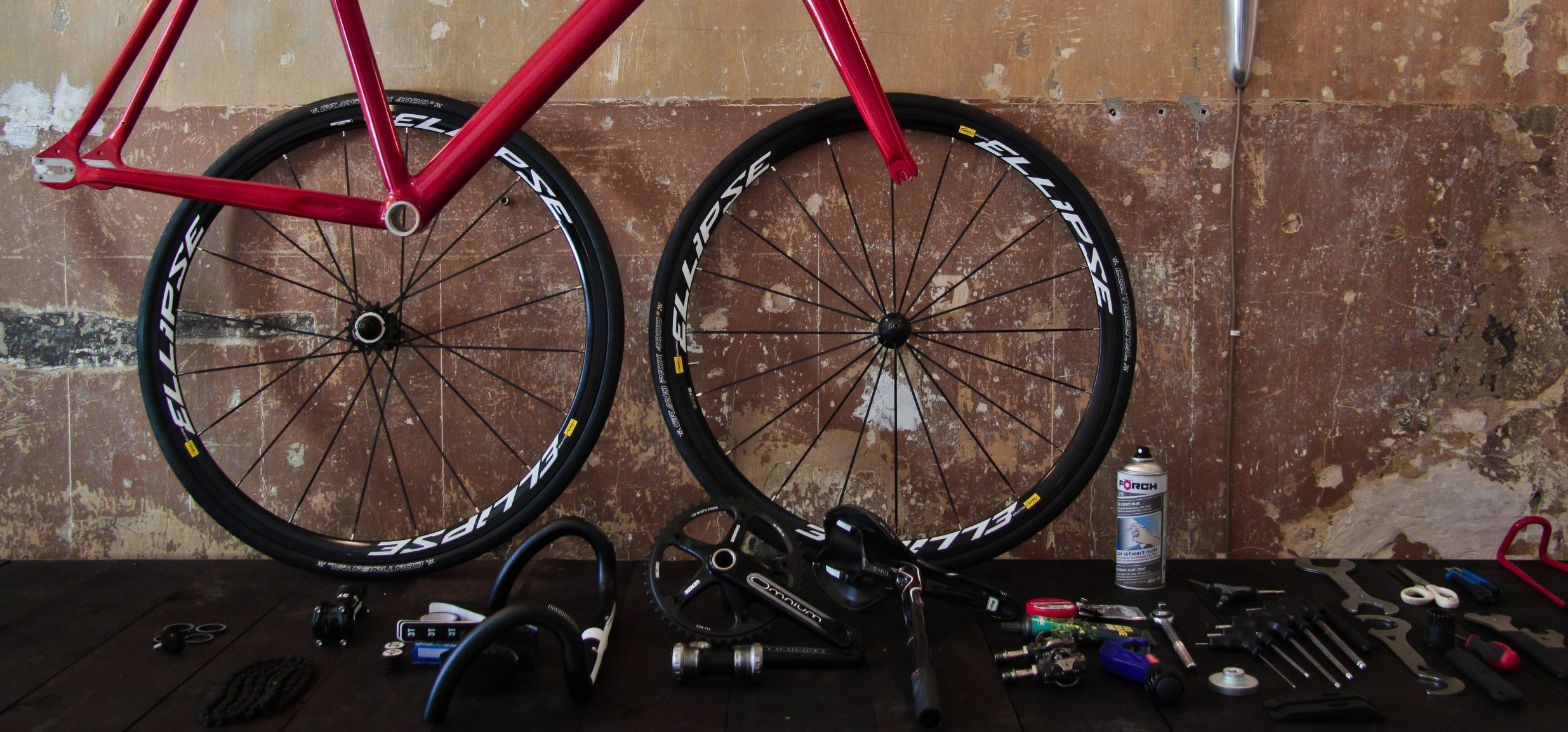 Bicycle repair Barcelona