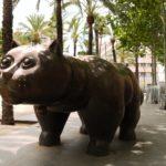 Botero's Cat, a symbol of Barcelona