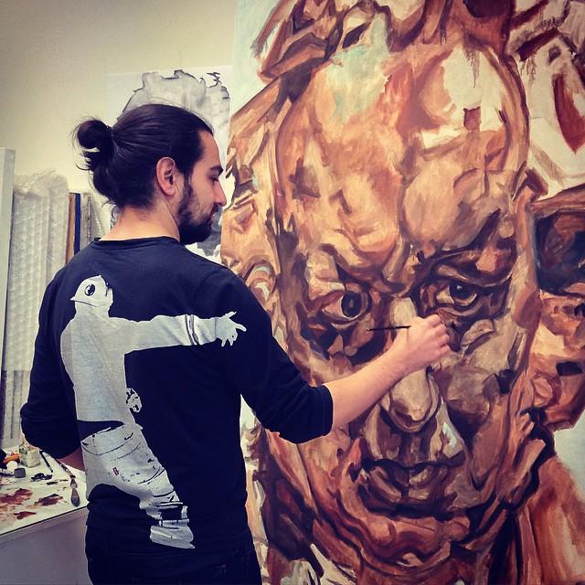 Painter, art college