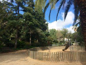 Parks for kids in Barcelona - Parc de Les Aigües