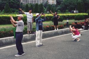 Tourists copy