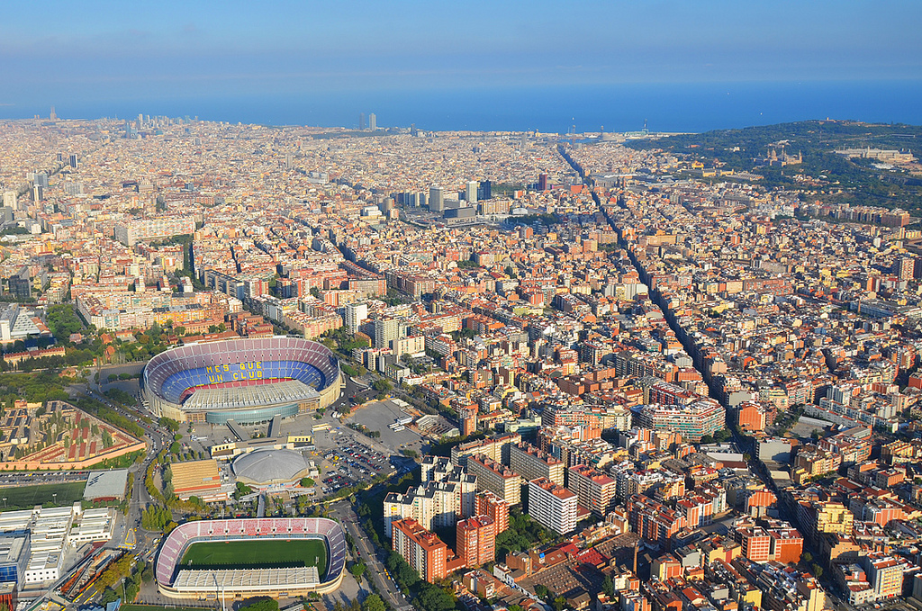 how to get to camp nou from las ramblas