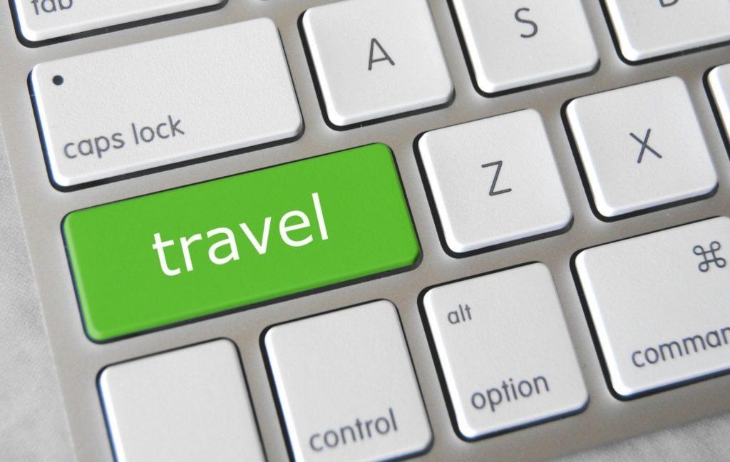 travel on keyboard