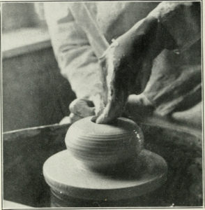 making Ceramics by hand