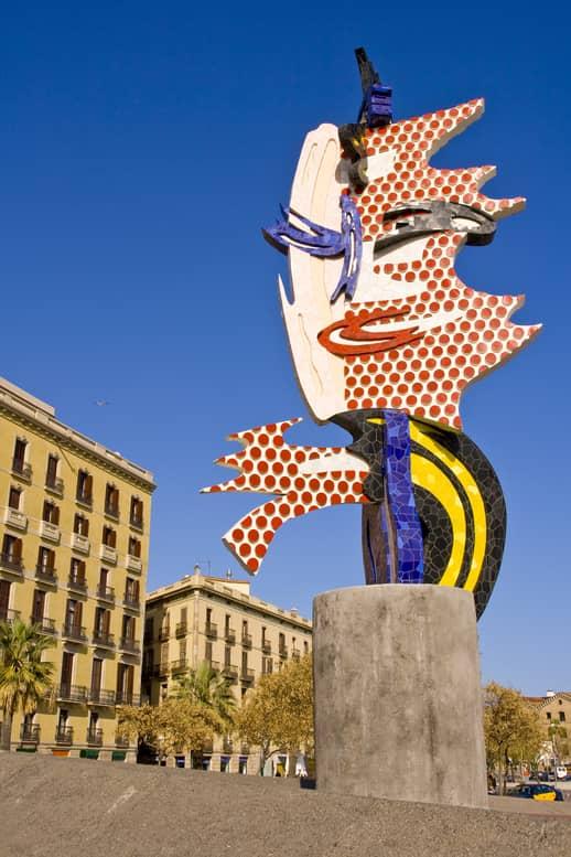 Cap de Barcelona - Joan Miró - Discover Barcelona