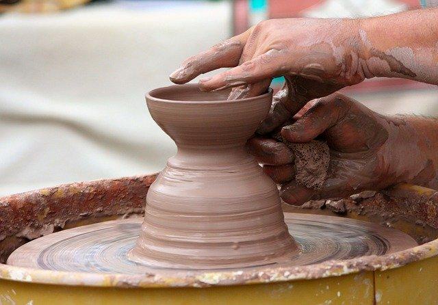 sculpting, pottery