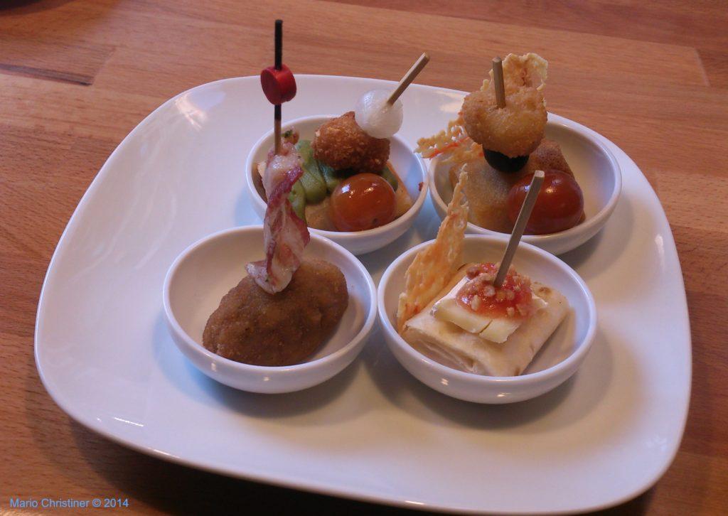 pintxos in a plate