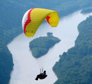 Paragliding barcelona