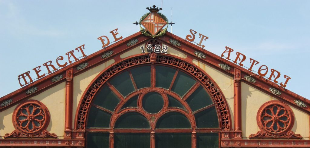exterior of sant antoni market