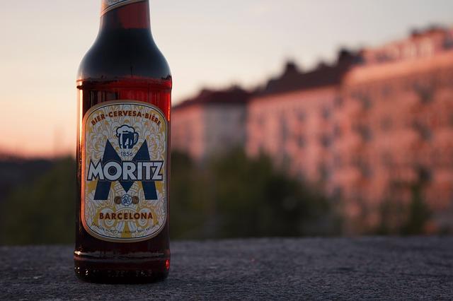 moritz beer bottle