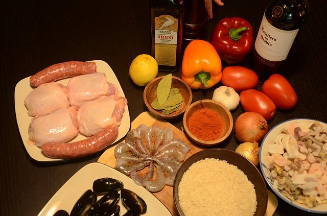 ingredients fideua