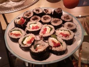 vegetarian sushi barcelona