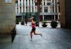 Jogging on La Rambla