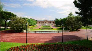 inside garden Joan Maragall – Palauet Albeniz