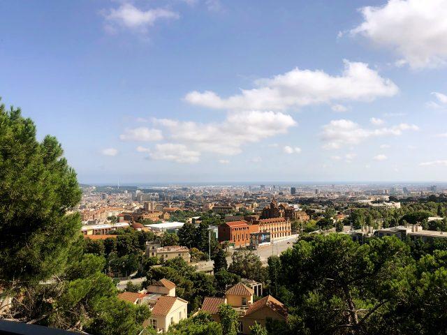 view over sarria-sant gervasi
