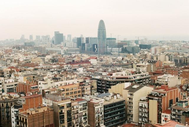 view of barcelona - torre glories