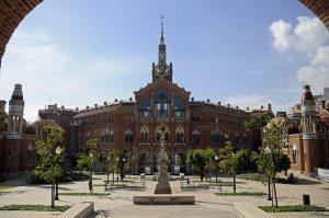 exterior sant pau recinte modernista barcelona