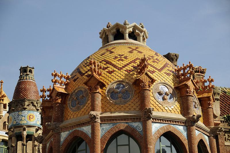 roof sant pau recinte modernista barcelona