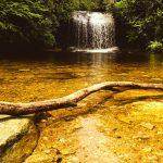Beautiful natural pools in Catalonia
