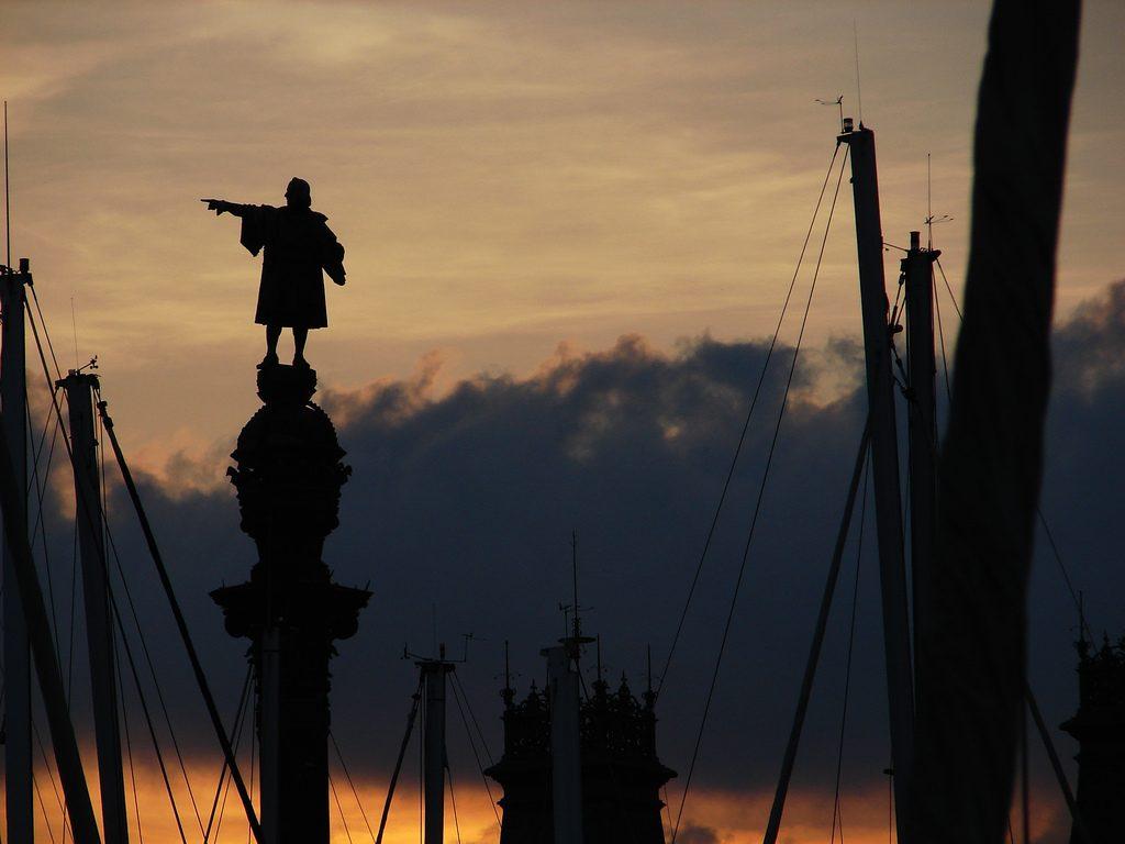 columbus statue barcelona