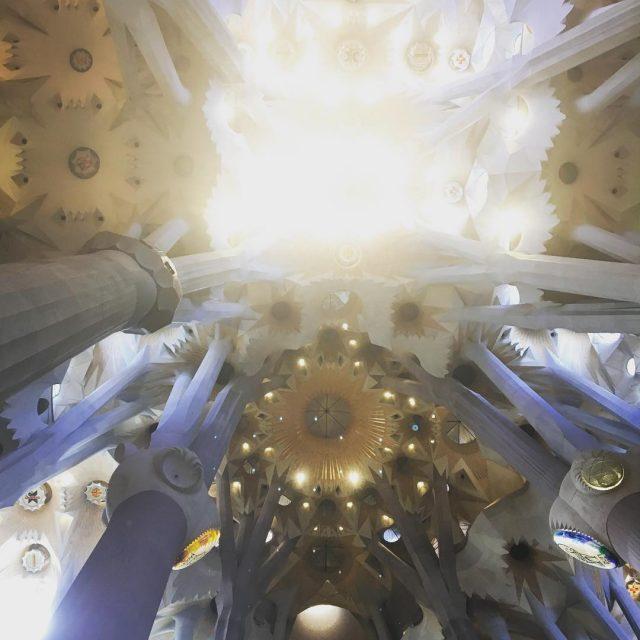 Do you know the Sagrada Familia from inside? sagradafamilia lighthellip