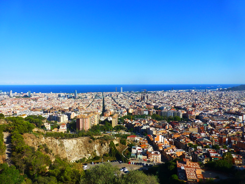 bunkers el carmel barcelona