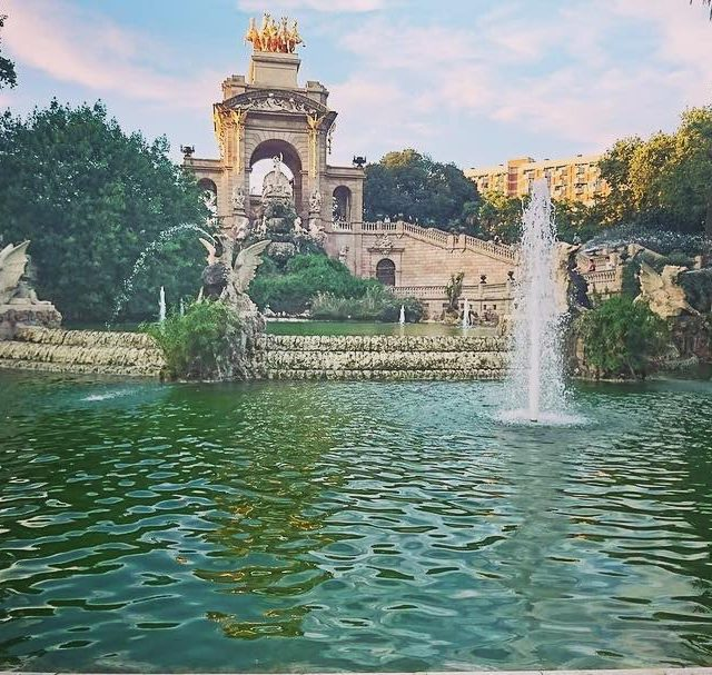 Hoy les presentamos una foto del maravilloso Parc de lahellip