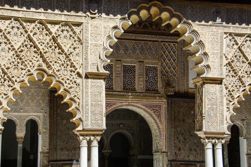 the alhambra building in barcelona