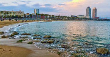 coast line barcelona