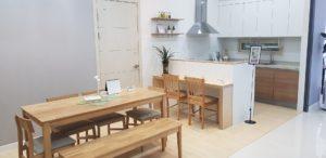 compact modern apartment interior