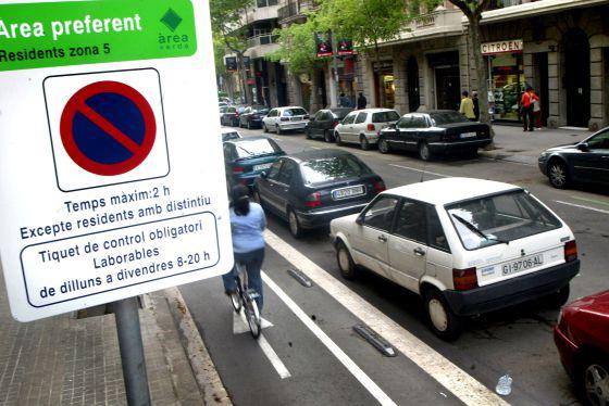street parking in barcelona