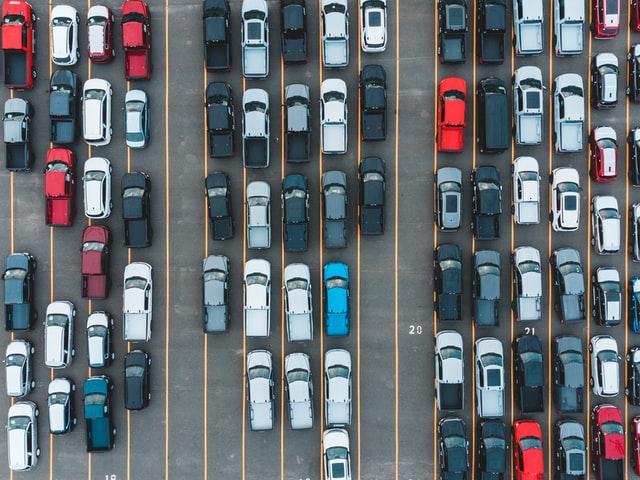 big car park