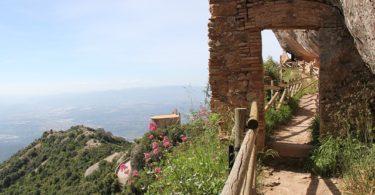 trail montserrat catalonia