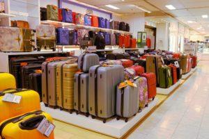 interior luggage store