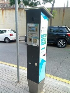 parking meter barcelona