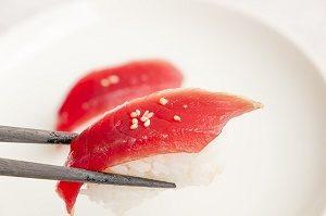 sushi with tuna