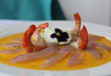 classy ceviche, peruvian dish