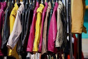 colourful vintage clothes