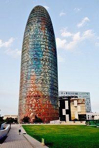 torre gloriers barcelona