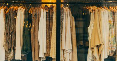 clothing shop interior