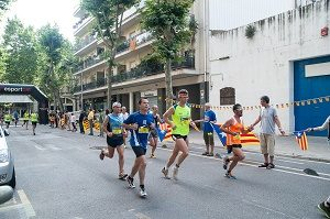 people in a running contest