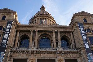 exterior mnac museum barcelona