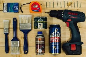 building and renovating tools
