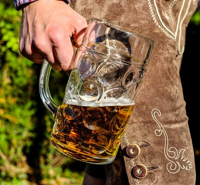 beer and lederhosen