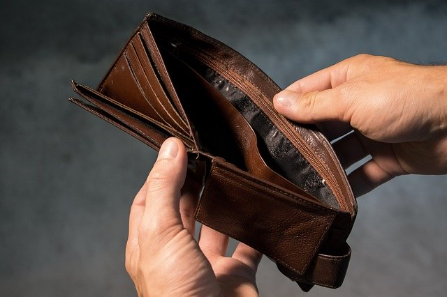 purse with no money