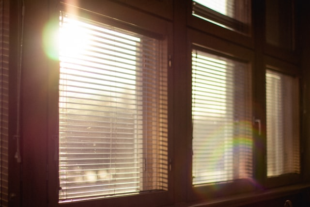 Blinds in windows