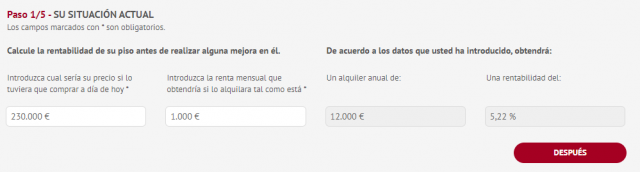 step 1 revenue calculator