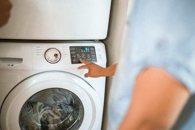 washing machine with display