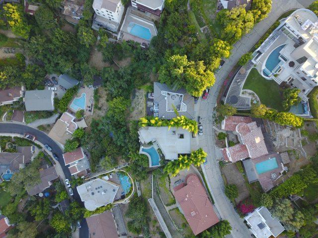 neighbourhood from above